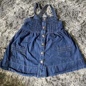 Girls Baby Gap Denim Dress 2T